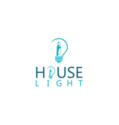 light house logo vector image