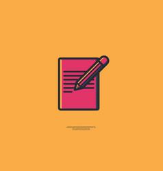 Note book vector