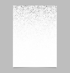 square pattern brochure design - mosaic page vector image