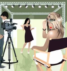 studio vector image
