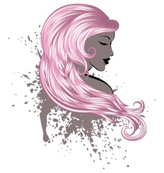 Woman with Long Hair5 vector
