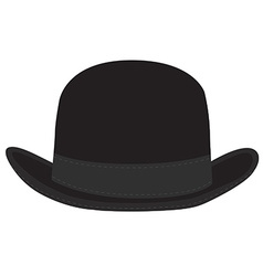 Derby hat vector image vector image