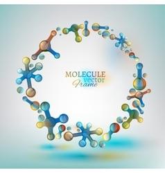 01 Molecule Frame vector image