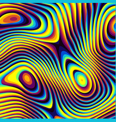Abstract psychedelic background vector