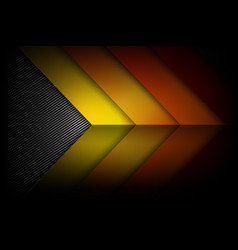abstract red orange yellow background dark and vector image