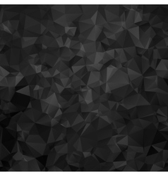 Black and white triangular abstract background vector