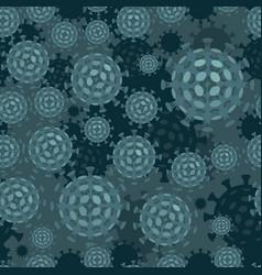 covid19-19 coronavirus macro closeup vector image