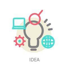 Creative network concept vector