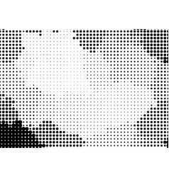 halftone dotted background in pop art style vector image