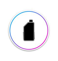 household chemical blank plastic bottle icon vector image