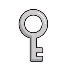old key icon vector image