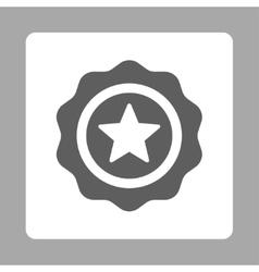 Reward seal icon from Award Buttons OverColor Set vector