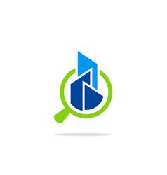 Search building abstract construction logo vector