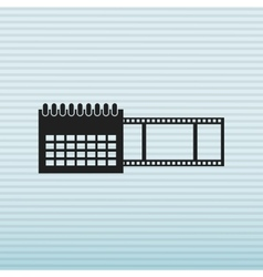 tape reel design vector image
