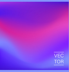 ultra violet holographic fashion cover vector image