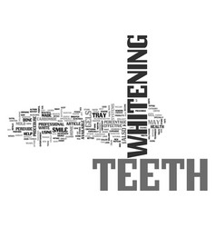 White teeth at home text word cloud concept vector