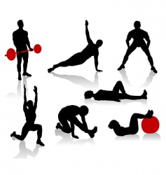 exercise1 vector image