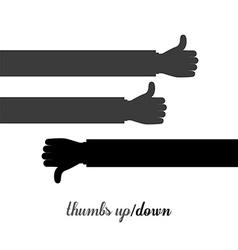 Human Hand design vector image