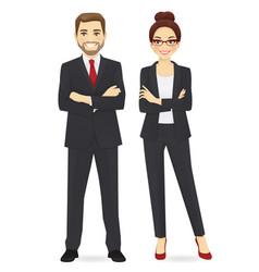 business team set vector image