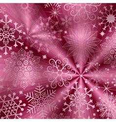 Christmas purple background vector image