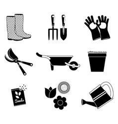 Gardening icon design vector image