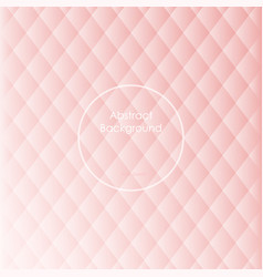 gradient white and rose qurtz colored rhombus vector image