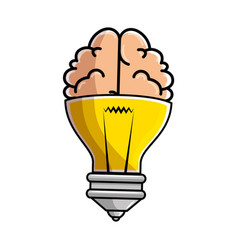 Isolated bulb and brain vector