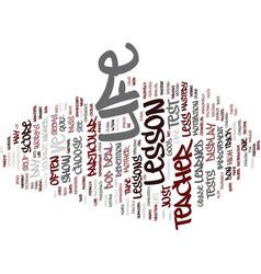 Life the teacher text background word cloud vector