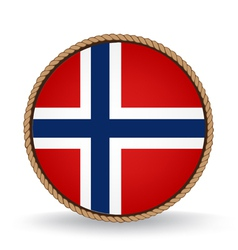 Norway Seal vector image