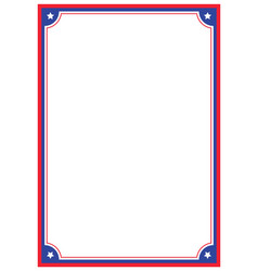 Page border a4 design for project vector