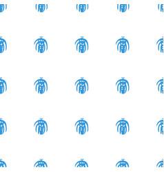 remote control icon pattern seamless white vector image