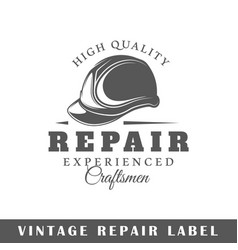 Repair label vector