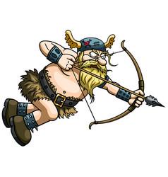 Viking cupid vector
