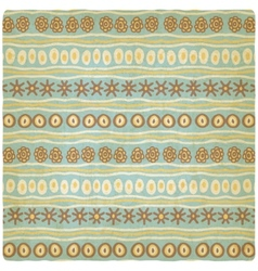 hand drawing ethnic pattern old background vector image vector image