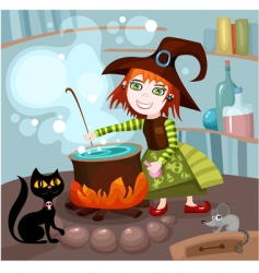 witches brew vector image vector image