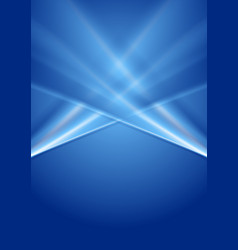 Abstract deep blue gradient background vector