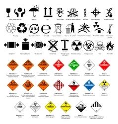 Dangerous symbol vector