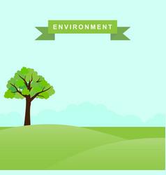 environmental design vector image