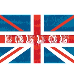 flag london vector image