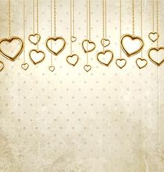 Vintage Valentines Background vector