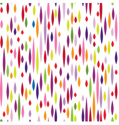 abstract spot pattern multicolor holiday seamless vector image vector image