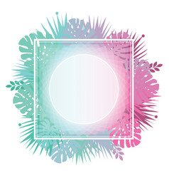 Abstract template with gradient backgrounds and vector