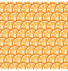 Citrus summer pattern vector image