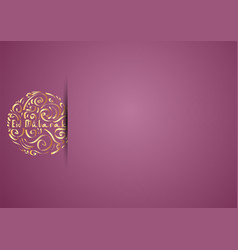 Design ramadan kareem greeting card vector
