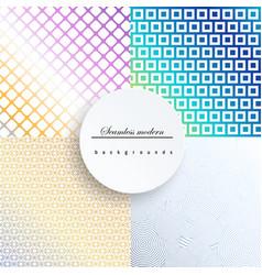 Geometric patternpattern fills web page vector