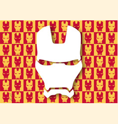 Iron man wallpaper vector