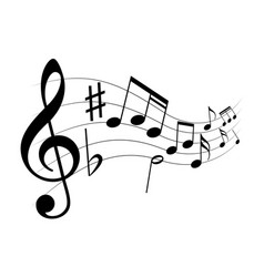 music play vector image