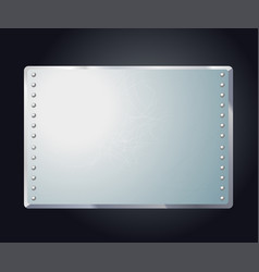 stylized abstract industrial frame vector image
