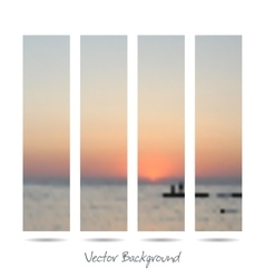 Mesh background fishing on sea vector image vector image