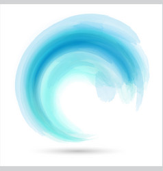 abstract wave design vector image